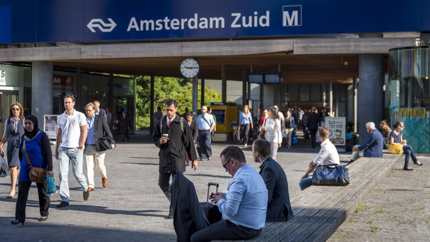 Aanpassingen Station Amsterdam-Zuid