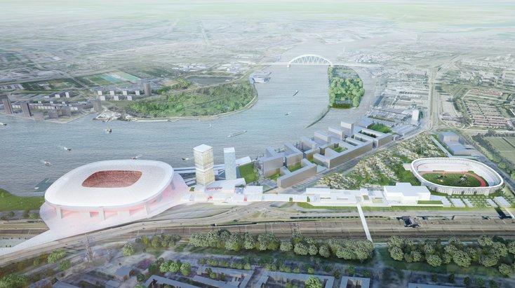 Mobiliteitsplan voor het Nieuwe Stadion