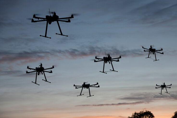 Testlocatie voor Drones