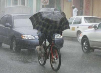 Droog blijven op de fiets
