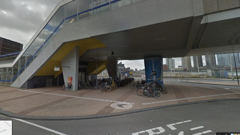 Metrostation Rijnhaven